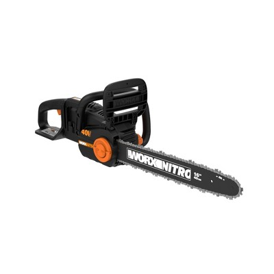 Worx WG385.9 POWER SHARE NITRO 40V 16in Cordless Chainsaw, Brushless Motor, Tool-Free Tensioning (Tool Only)