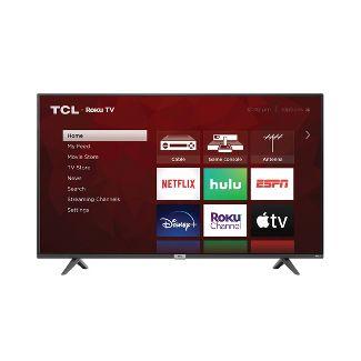 "TCL 50"" Class 4-Series 4K UHD HDR Smart Roku TV – 50S425"
