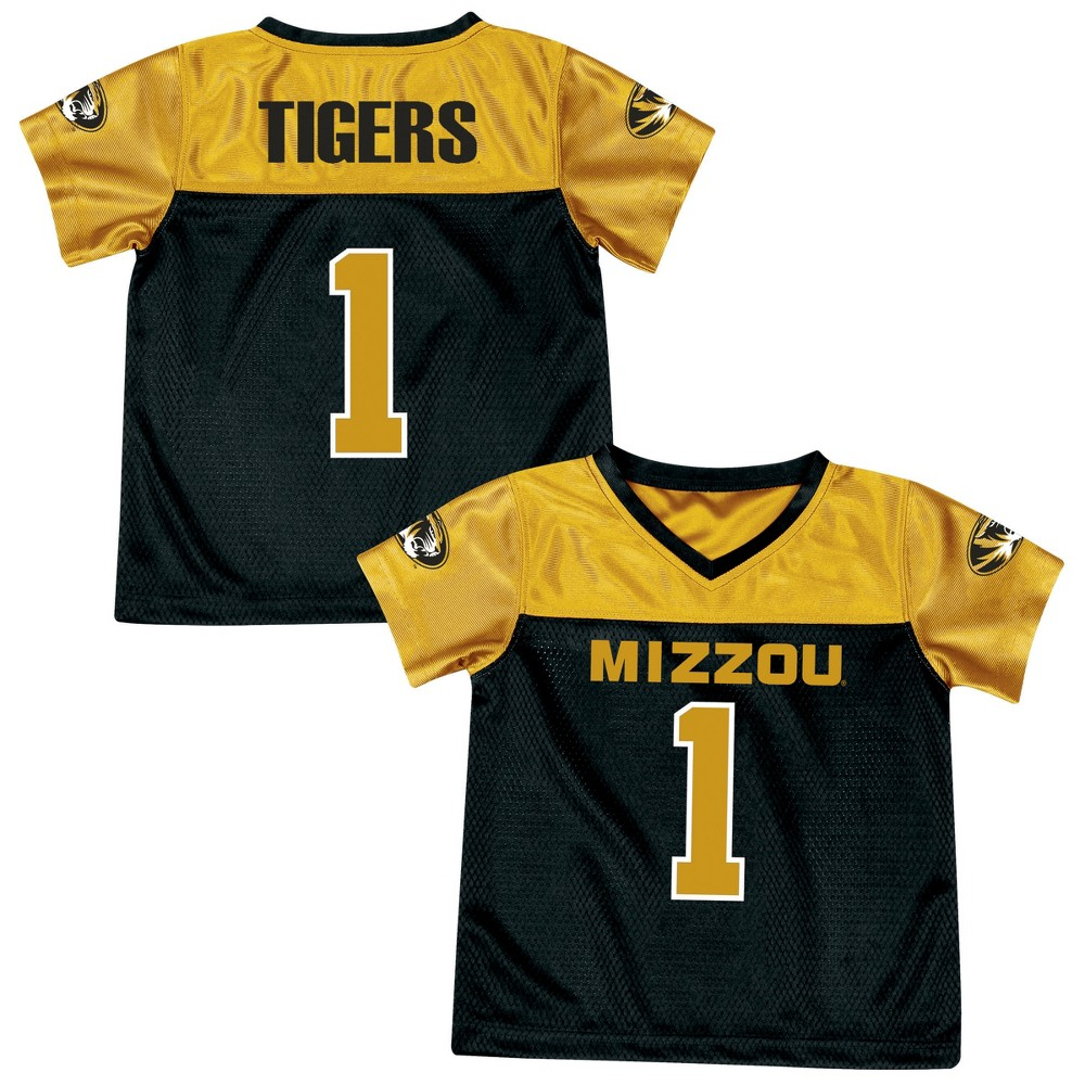 Athletic Jerseys Missouri Tigers 2T, Multicolored