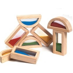 Guidecraft Sand Blocks, building sets