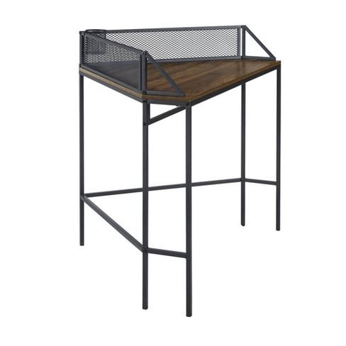 Industrial Corner Desk - Saracina Home - image 1 of 4