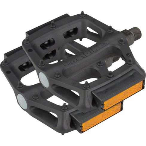 """DMR V6 Pedals, 9/16"""" Plastic Platform with Reflectors, Black - image 1 of 1"""