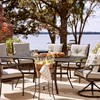 Chester Aluminum Rectangle Patio Dining Table - Threshold™ - image 4 of 4