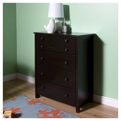 Little Smileys 4-Drawer Chest - Espresso - South Shore - image 1 of 6