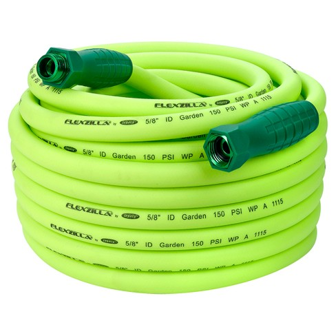 "Garden Lead In Hose with Swivelgrip Connections 5/8"" x 75' - Green - Flexzilla® - image 1 of 7"
