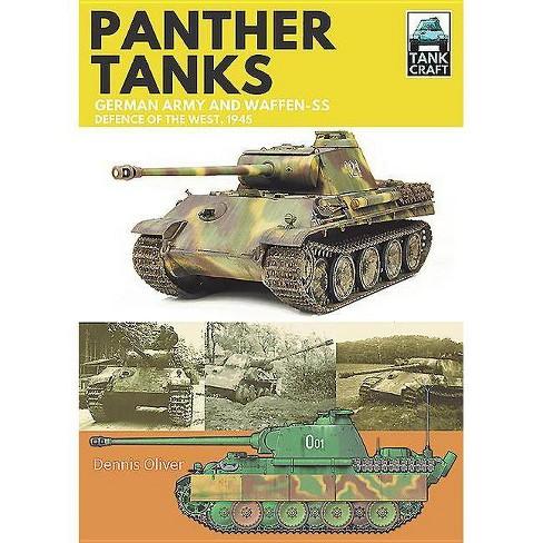 Panther Tanks - (Tankcraft) by  Dennis Oliver (Paperback) - image 1 of 1
