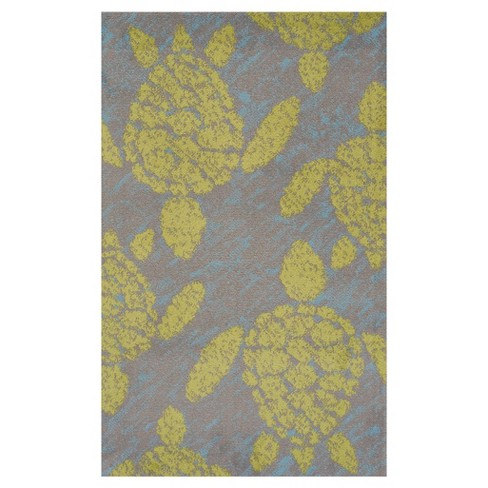 Lime Panama Jack Hooked Rug - United Weavers - image 1 of 1