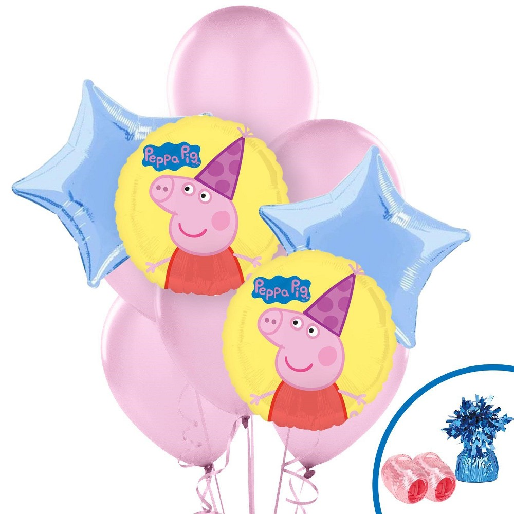 Peppa Pig Balloon Kit, Multi-Colored