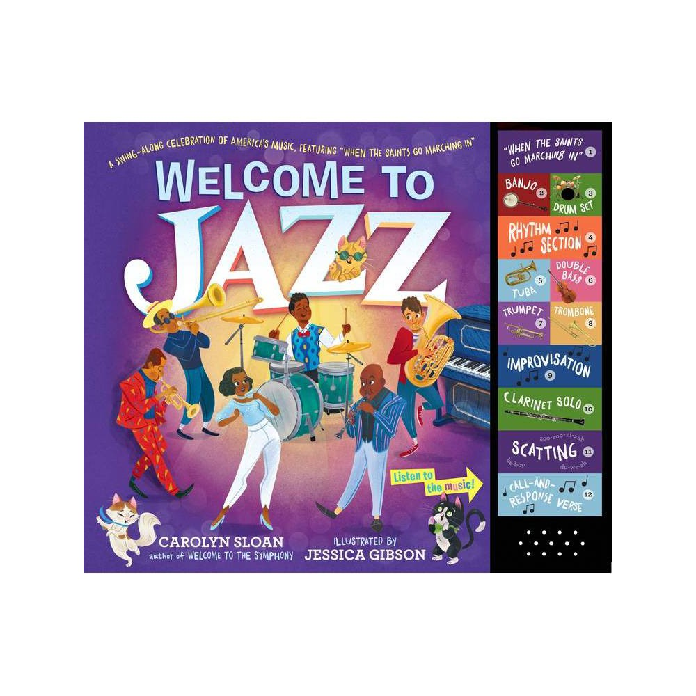 Welcome To Jazz By Carolyn Sloan Hardcover
