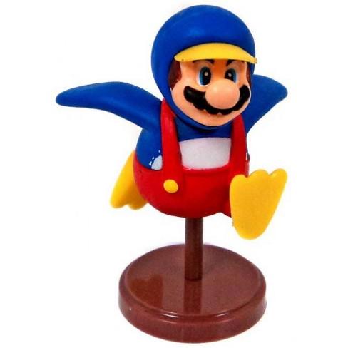 Super Mario Bros Wii Penguin Mario 1 5 Inch Pvc Figure Target