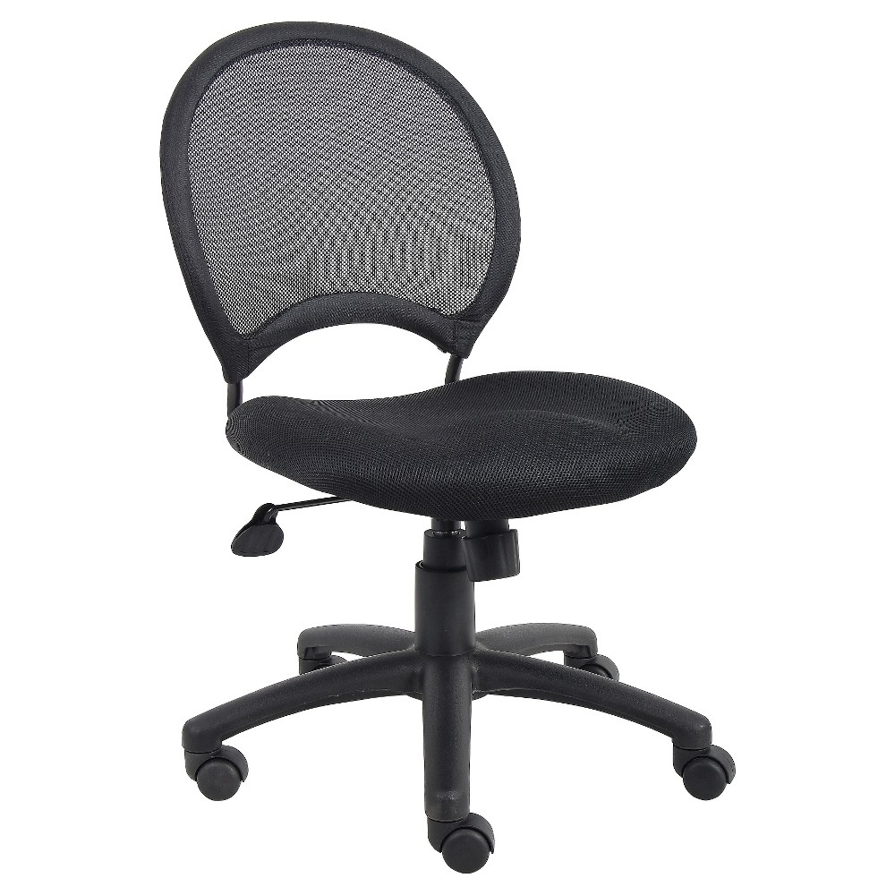 Mesh Chair Black Boss Office Products