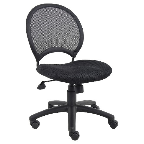 Mesh Chair Black - Boss Office Products - image 1 of 4