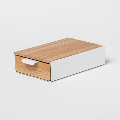 Reflexion Jewelry Storage Box White Box/White   Umbra by Umbra