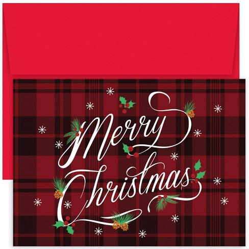 Christmas Greeting Card Images.18ct Merry Christmas Greeting Cards Masterpiece Studio