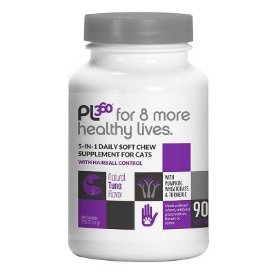 PL360 Cat Health Immunity & Probiotic Supplement - 90ct