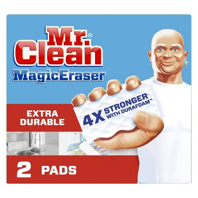 Mr. Clean Magic Eraser Extra Durable Cleaning Pads with Durafoam - 2ct