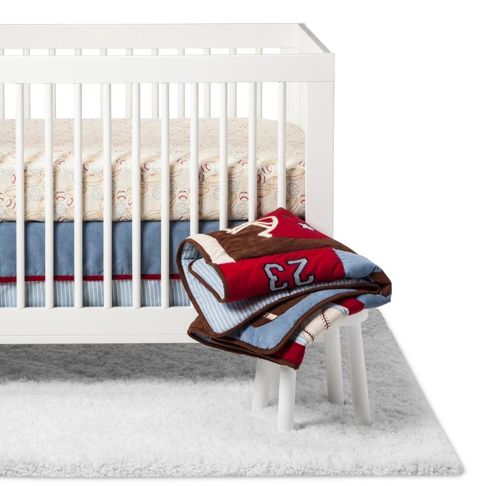 Image of NoJo Crib Bedding Set - Play Ball - 9pc