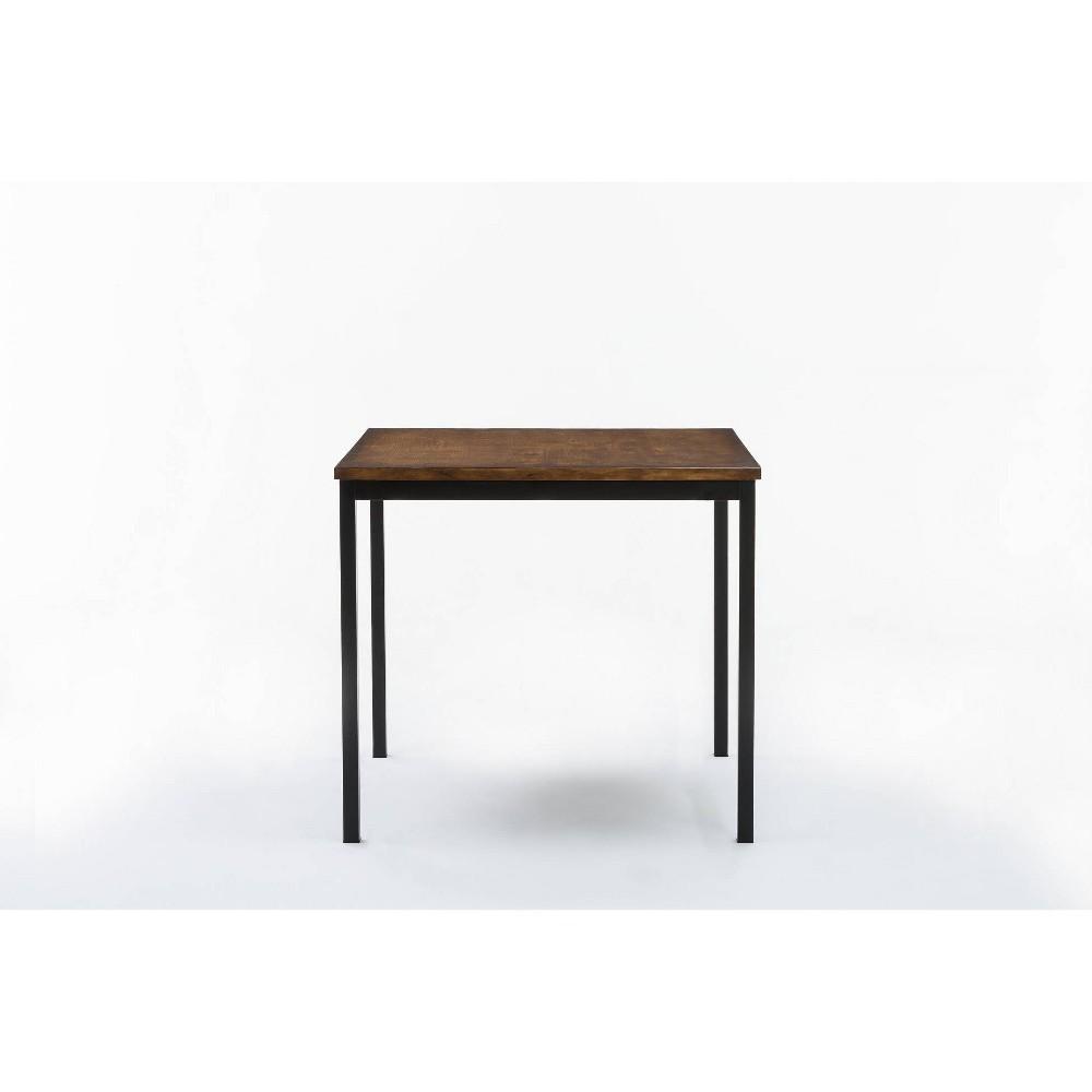 Americano Counter Height Table Natural/Black - Boraam