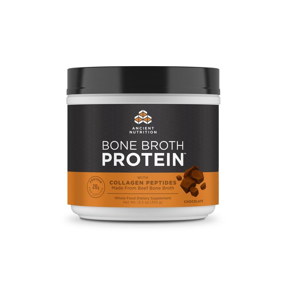Ancient Nutrition Bone Broth Protein Powder - Chocolate -...