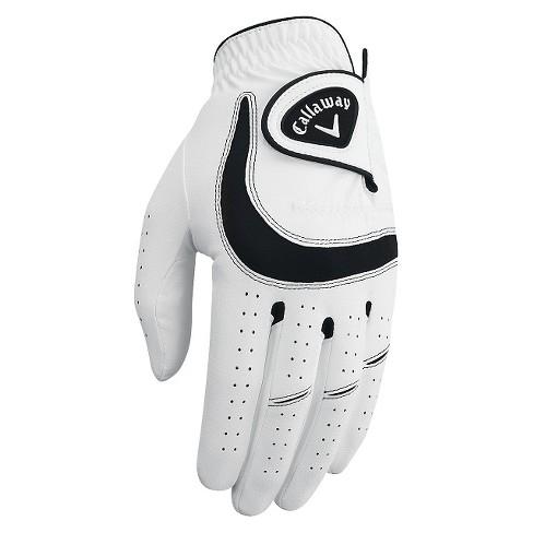 Callaway Golf Glove Soft M - White - image 1 of 3