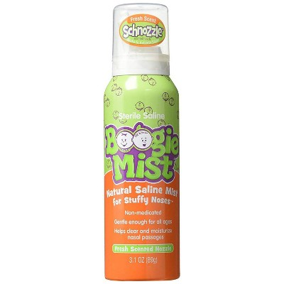 Boogie Mist Stuffy Nose Spray, Fresh Scent - 3.1 fl oz