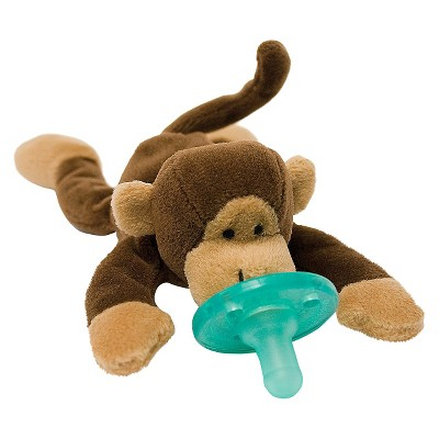 WubbaNub® Monkey Pacifier - Brown