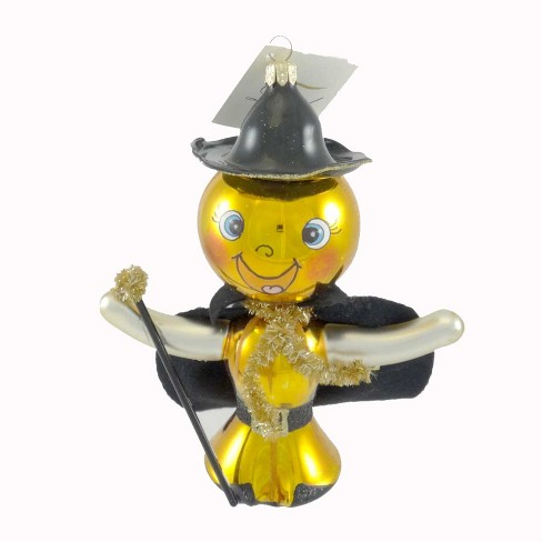 Laved Italian Ornaments Pumpkin Man Happy Halloween Cape Staff - image 1 of 2
