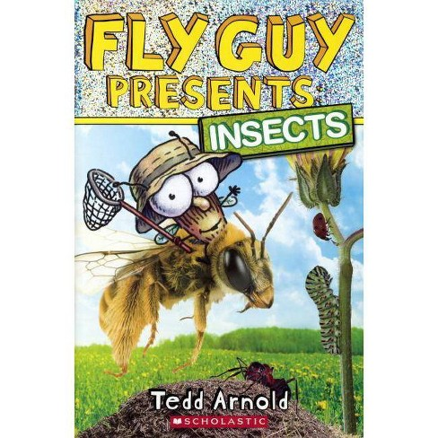 Insects - (Fly Guy Presents...) by  Joanna Cole (Hardcover) - image 1 of 1