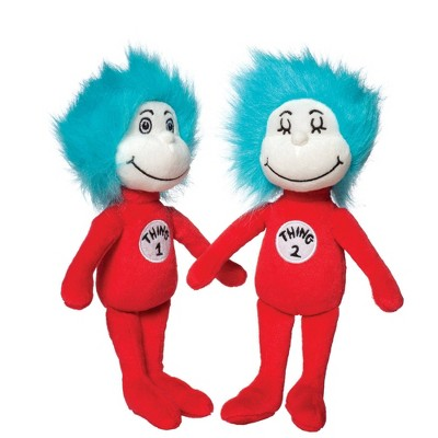 The Manhattan Toy Company Dr Seuss Thing 1 & Thing 2
