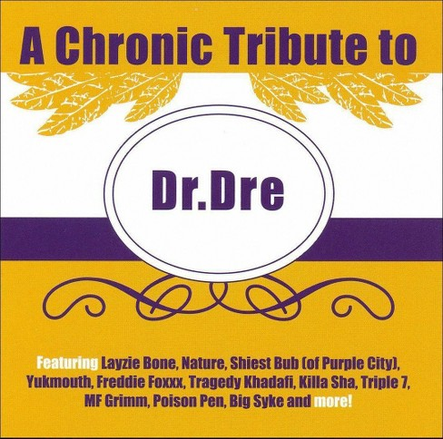 Various - Chronic tribute to dr. dre [Explicit Lyrics] (CD) - image 1 of 1