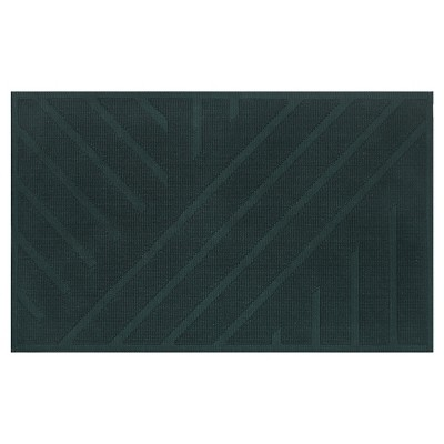Geo Stripe Bath Mat (20 X34 )Mountain Spruce Opaque - Project 62™ + Nate Berkus™