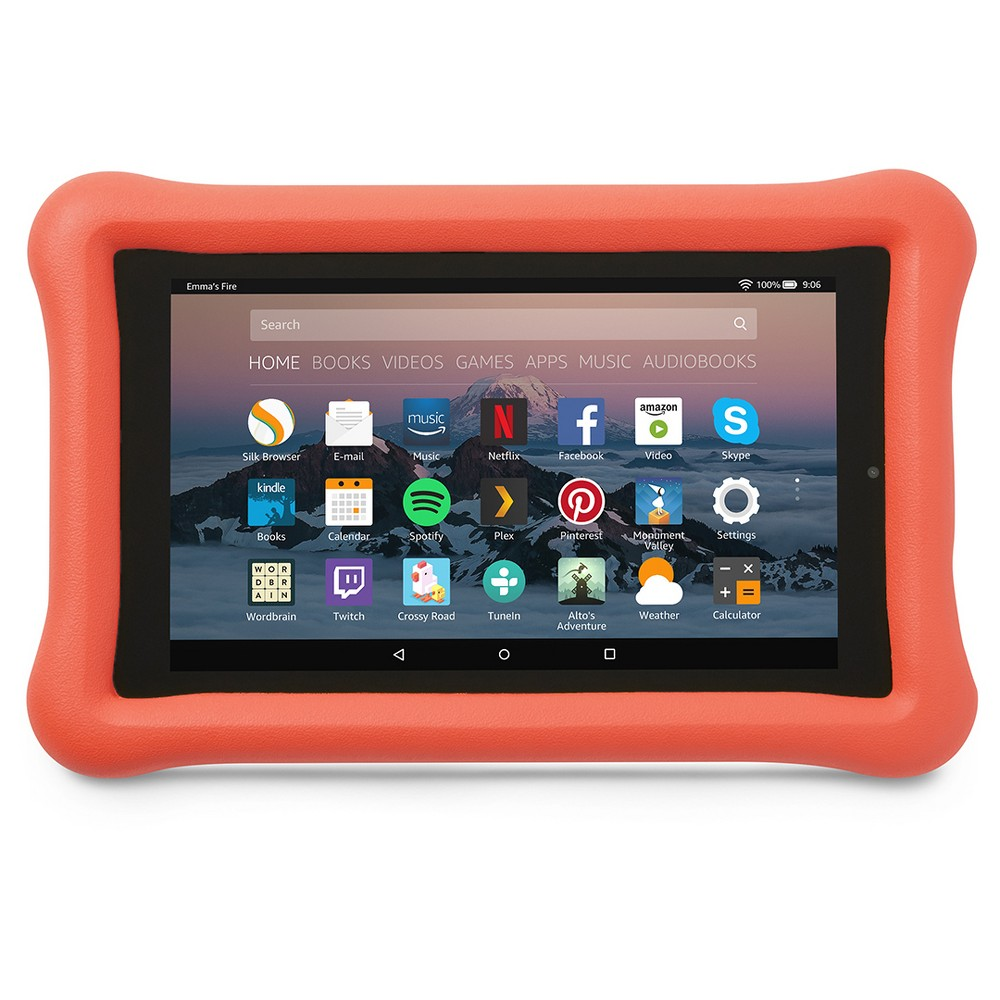 Amazon Kid-Proof Case for Amazon Fire 7 Tablet (7th Generation, 2017 Release) - Punch Red