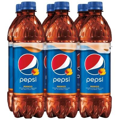 Pepsi Mango Soda - 6pk/16.9 fl oz Bottles