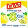 Glad ForceFlexPlus + Tall Kitchen Drawstring Trash Bags - Febreze Sweet Citron & Lime - 13 Gallon - 45ct - image 4 of 4