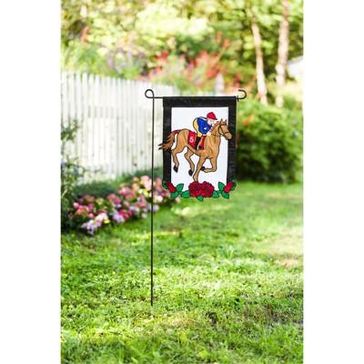 Evergreen Derby Flag Garden