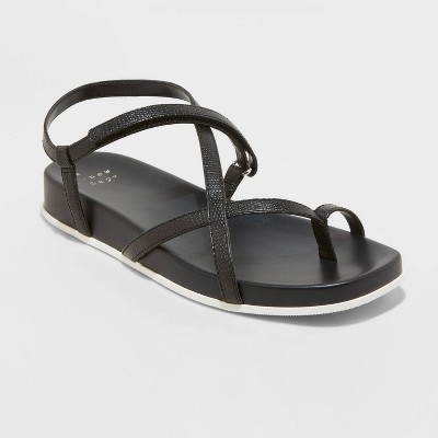 Women's Eden Strappy Toe Loop Sandals - A New Day™