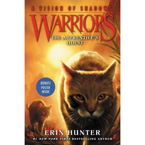 The Apprentice's Quest - (Warriors: A Vision of Shadows, 1) by  Erin Hunter (Hardcover) - image 1 of 1
