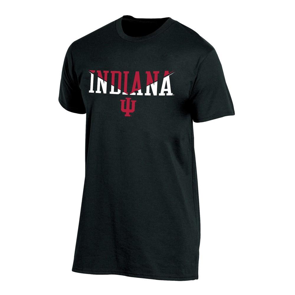 Indiana Hoosiers Men's Short Sleeve Core Wordmark T-Shirt - Heather XL, Multicolored