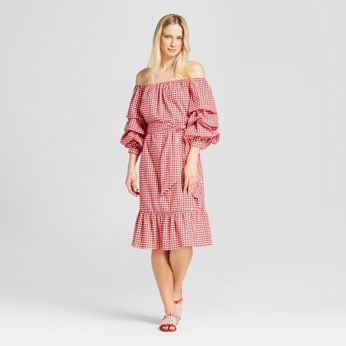 Women S Pick Up Sleeve Bardot Dress Who What Wear