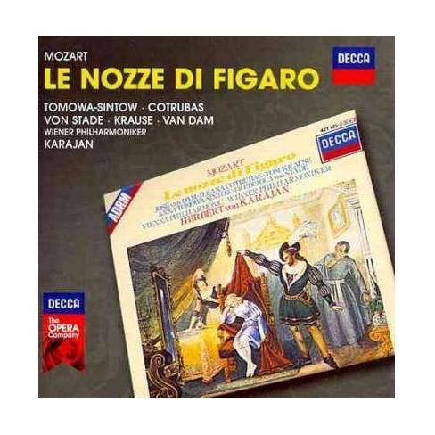 Herbert Von Karajan - Mozart: Le Nozze Di Figaro (CD) - image 1 of 1