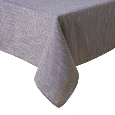 """60""""X160"""" Harper Tablecloth Gray - Town & Country Living"""