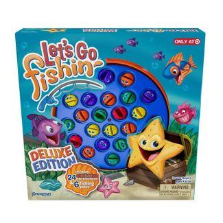 Pressman Lets Go Fishin Deluxe Game