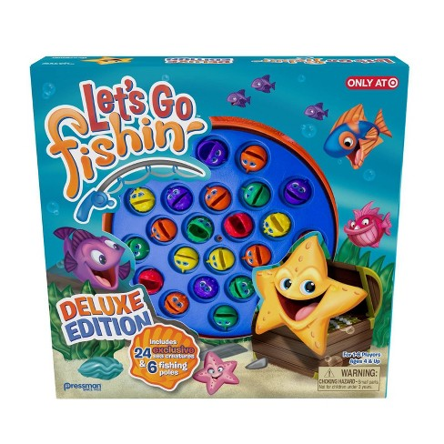 Pressman Let's Go Fishin' Deluxe Game - image 1 of 3