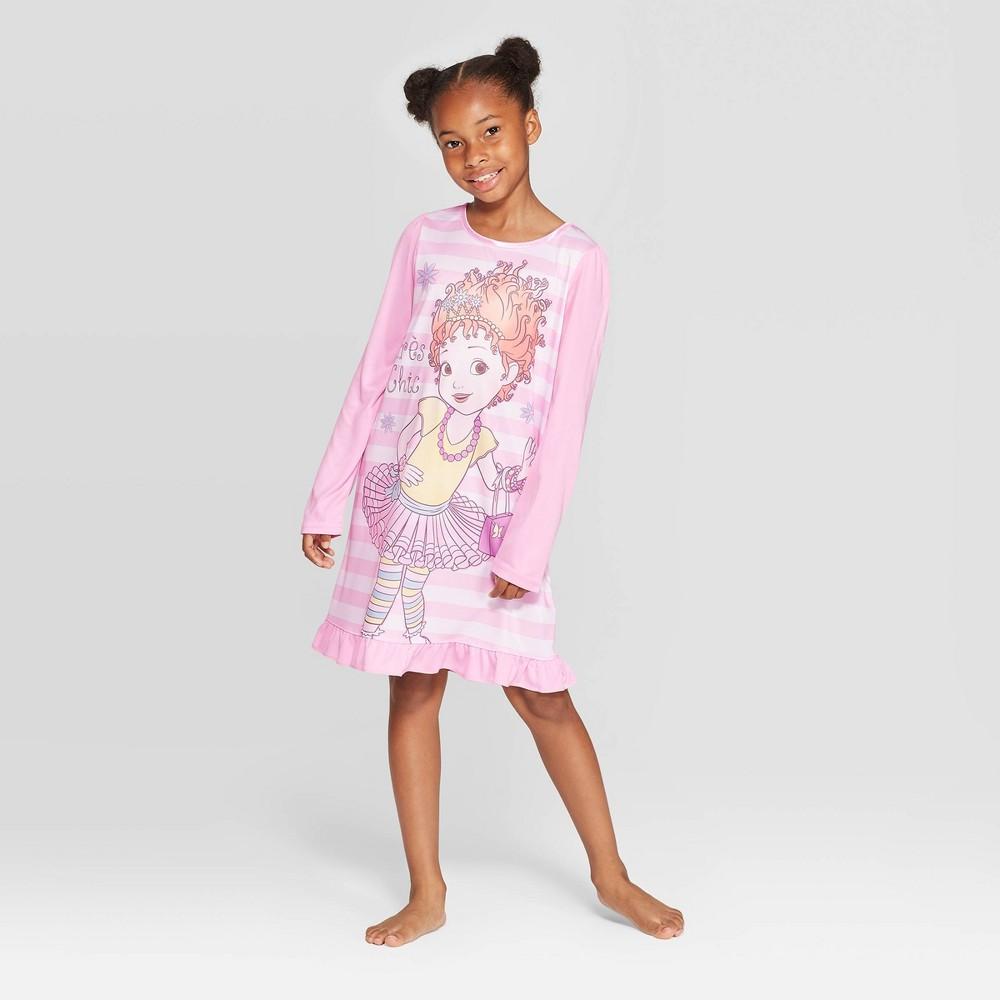 Image of Girls' Fancy Nancy Dorm Nightgown - White 10, Girl's