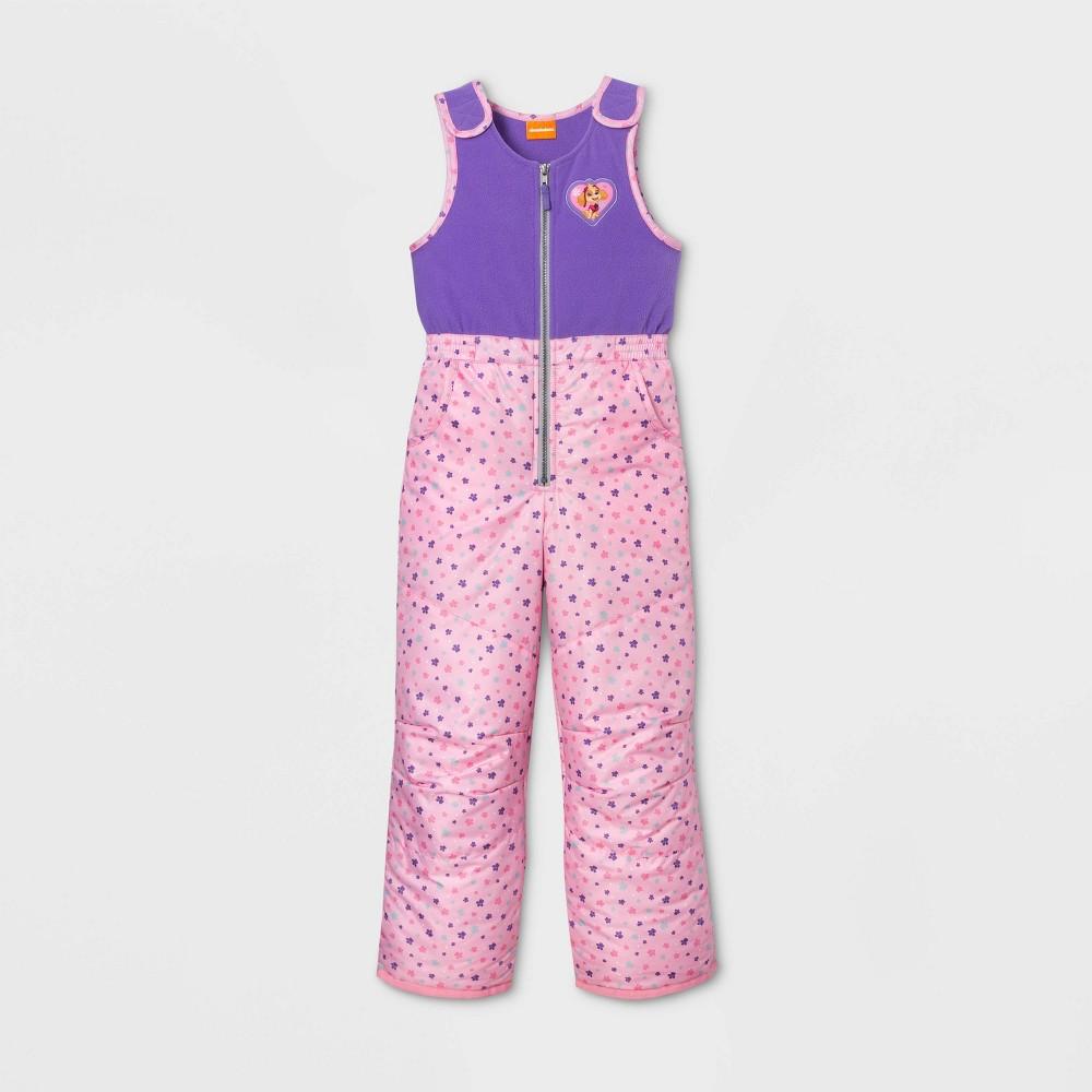 Image of Girls' PAW Patrol Snow Bib - Purple S, Girl's, Size: Small