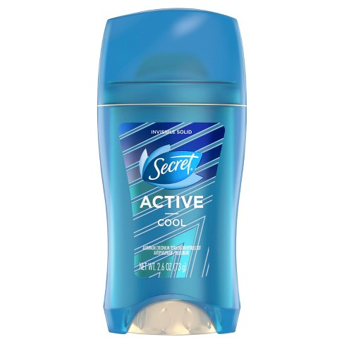 Secret Active Cool Invisible Solid Antiperspirant and Deodorant - 2.6oz - image 1 of 2
