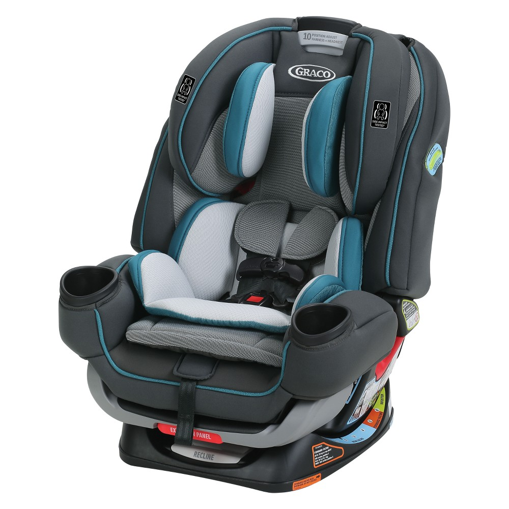Image of Graco 4Ever Extend2Fit 4-in-1 Convertible Car Seat - Seaton