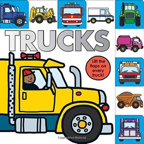 Lift-the-Flap Tab: Trucks (Board Book) by Sarah Powell & Roger Priddy - image 1 of 2