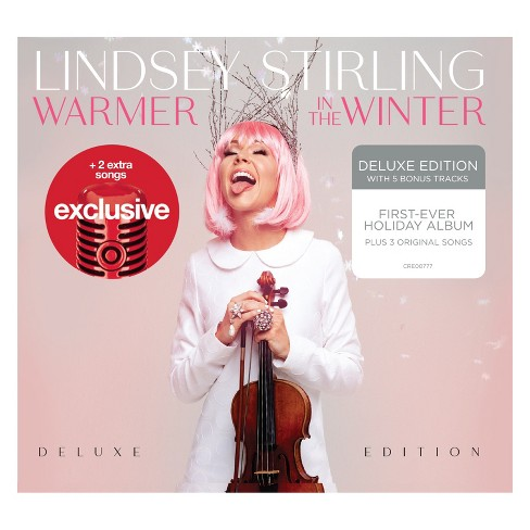 Lindsey Stirling Christmas Album.Lindsey Stirling Warmer In The Winter Deluxe Target Exclusive