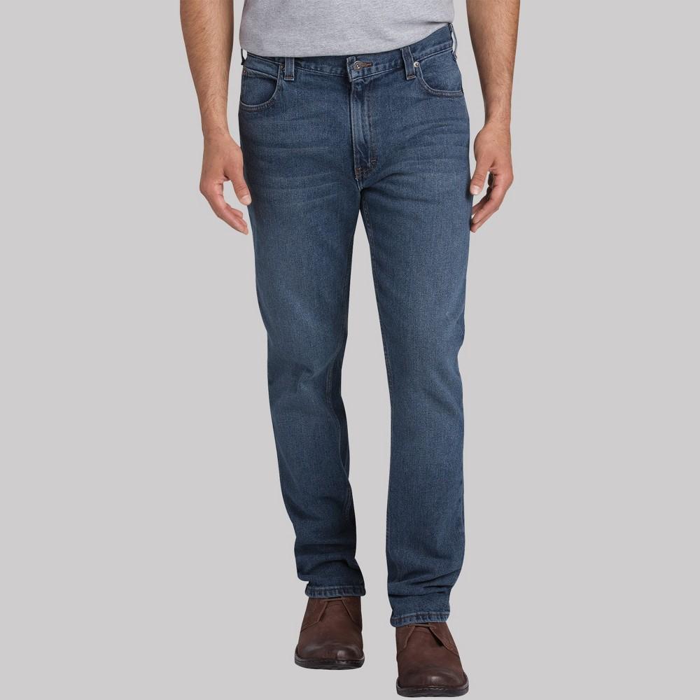 Dickies Men's Slim Taper Fit Jeans - Medium Denim Wash 38x34